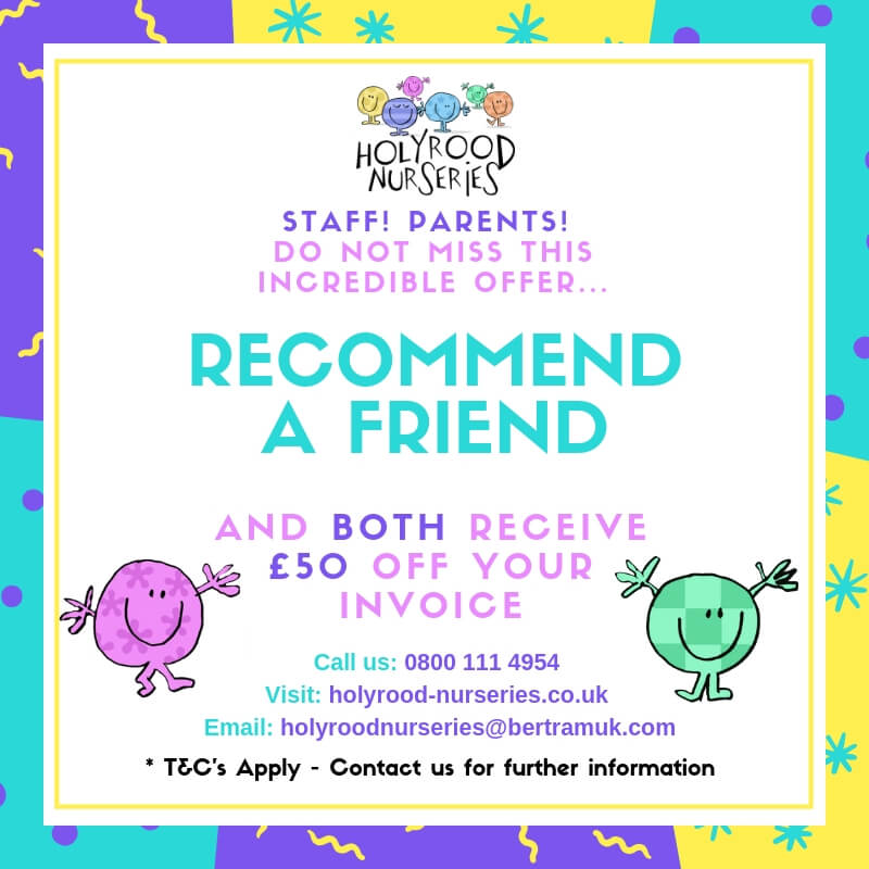 Holyrood SM Recommend a Friend