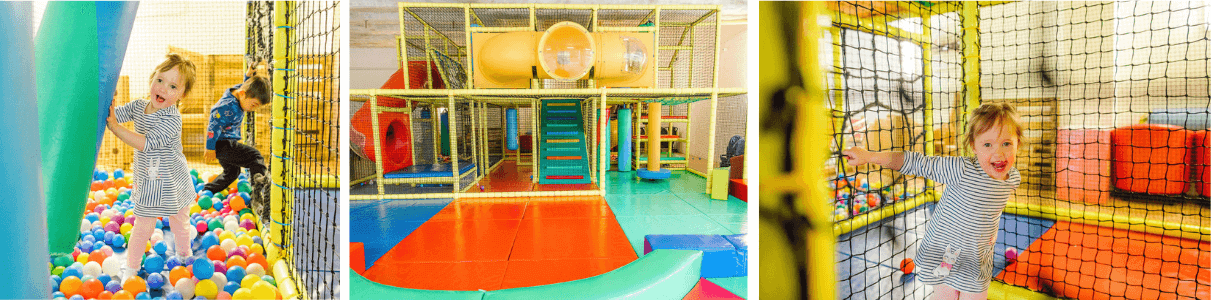 Soft Play for children at Princes Dock Nursery